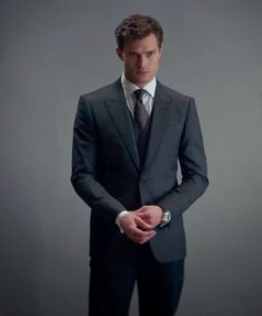 """""""Twice our eyes lock, and I have to tear myself away from his cloudy gaze.""""-Anastasia Steele 