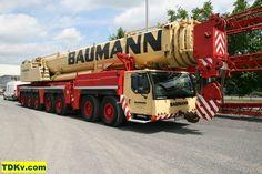 Liebherr LTM 1400-7.1 from Baumann posted on Kranliste.dk