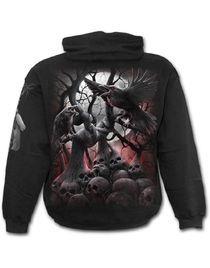 Sweat gothique homme SPIRAL 'dark roots'