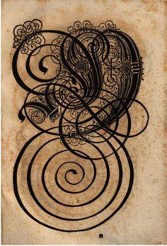 Paulus Franck - 'Schatzkammer Allerhand Versalien Lateinisch vnnd Teutsch', 1601 alphabet k by peacay, via Flickr