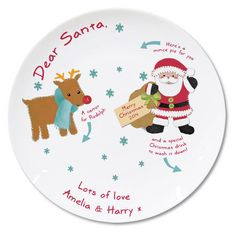 Little ones will love putting this plate out on Christmas Eve! Personalise this cute ceramic Felt Stitch Friends Mince Pie Plate with up to 2 lines of 20 characters each to feature at the bottom of the plate. Unusual Christmas Gifts, Christmas Favors, Christmas Drinks, Christmas Gifts For Kids, Christmas Crafts, Merry Christmas, Unusual Gifts For Women, Best Baby Gifts, Mince Pies