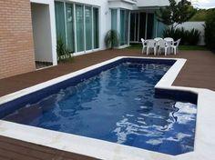 Construção piscina completa