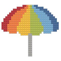 Tiny Cross Stitch, Cross Stitch Embroidery, Cross Stitch Patterns, Easy Perler Bead Patterns, Perler Bead Art, Perler Beads, Easy Pixel Art, Lego Mosaic, Lego Display
