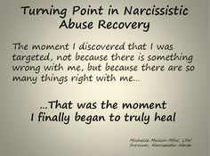 Turning Point in Narcisistic Abuse Recovery