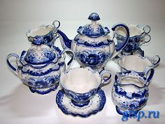check out this web site. wow beautiful Gzhel painting on porcelain...Russian ceramics...