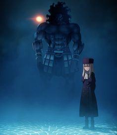 Fate/stay night: Unlimited Blade Works - Episode 3 Berserker x Ilya Illyasviel von Einzbern
