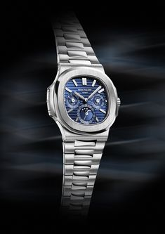 Patek Philippe Nautilus, Sporty Watch, Perpetual Calendar, Luxury Watches For Men, Casual Elegance, Cool Watches, Timeless Design, Elegant, Bow Ties