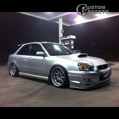 9 2004 impreza subaru wrx awd 4dr sport wagon 20l 4cyl turbo 4a dropped 1 3 work emotion xd9 silver hellaflush 4914 1