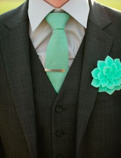 "groom style - Mute the greens a little - But I like the grey on black.  Makes it feel less ""work"" and more ""occasion"""