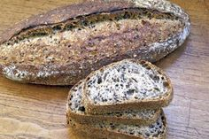 """Seeded Multigrain Sourdough """"you are mankind's energy, a miracle often admired, the will to live itself."""" -Pablo Neruda"""