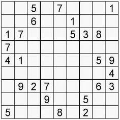 Pasatiempos para Imprimir: Sudoku nº 152