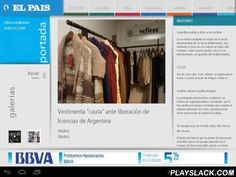 El Pais Uruguay  Android App - playslack.com , El País S.A presenta su aplicación de noticias digitales versión Android. Podrás estar informado durante todo el día con las noticias nacionales, internacionales, deportivas y más.