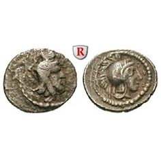 Lykien, Dynasten, Ddenevele, Obol, ss/ss+: Ddenevele 420-400 v.Chr. Obol 10 mm. Kopf des Dynasten r. mit Tiara / Kopf der Athena r.… #coins