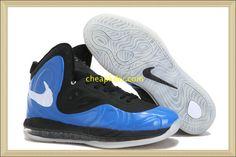 Nike Air Max #Cheap #Hyperposite 2012 Royal Blue Black White  #Cheap #shoes