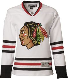 Reebok Women s Chicago Blackhawks Premier Jersey - White M a4727a330