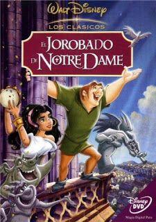 El Jorobado De Notre Dame Peliculas De Disney Memes De Disney Carteles De Películas De Disney