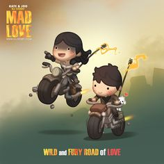 "Check out the comic ""HJ-Story :: Mad Love!"" http://tapastic.com/episode/137259"