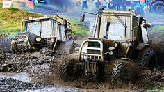 AWESOME Russian Flying Tractor Racing 2015 - Offroad Race - Bison Track Show - Russia - Russian Flying Tractor Racing 2015 - Offroad Race - Bison Track Show - Russia - Russian offroad tractor racing.Flying tractors cars ukranian belarus mtz kraz lada.Youtube video shared o all facebook google vkontakte profiles even on livestream liveleak ustream. Tractor machine race with tractor pulling show and stuck race. Green field tractor pulls  on pulling race around pull trailer.Crashes racing in…
