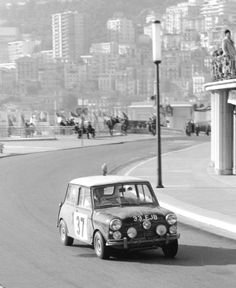 Paddy Hopkirk on the 1964 Monte Carlo Rally.
