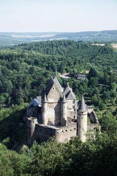 Vianden Castle, Luxembourg: Best Castles in Luxembourg