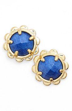 spade new york stud earrings