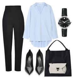 """""""Untitled #511"""" by msbillj ❤ liked on Polyvore featuring Haider Ackermann, Acne Studios, Movado and Yves Saint Laurent"""