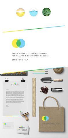 FutureFarms: Branding Project by Preeta Suresh, via Behance