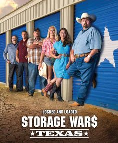 Storage Wars: Texas filmed another episode at one of our Watson and Taylor Self Storage locations!