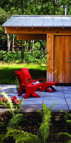 Canadian Red Chairs