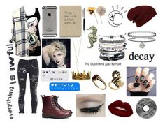 """""""Hey guys..."""" by muchband ❤ liked on Polyvore featuring moda, Topshop, Rails, H&M, GaÃ«lle Bonheur, Forever 21, Lime Crime, Old Navy, ESPRIT y Domo Beads"""
