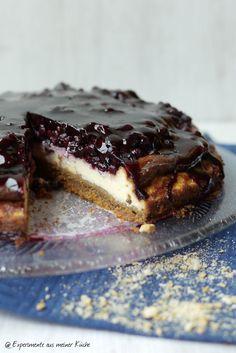 Experimente aus meiner Küche: Heidelbeer-Cheesecake