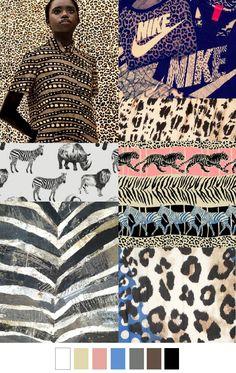 Animal kingdom animal skins tiger leopard cheetah zebra www. Fashion Design Inspiration, Mode Inspiration, Colour Inspiration, 2015 Trends, 2016 Fashion Trends, Fashion Colours, Colorful Fashion, Color Patterns, Print Patterns