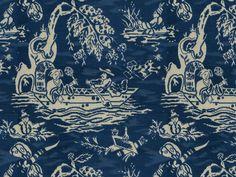 Brunschwig & Fils TIEN VELVET BLUE 8012130.5 - Brunschwig & Fils - Bethpage, NY