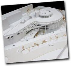 Museo de la Luz UNAM Hospital Architecture, Library Architecture, Concept Architecture, Amazing Architecture, Landscape Architecture, Contemporary Architecture, Round Building, Arch Model, Facade Design