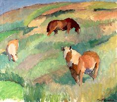 bofransson:  Knut Ljungberg - Horses