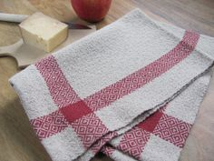 #Kitchen Napkin Hand Cloth Hand Woven EcoFriendly Holiday Decor by #aclhandweaver