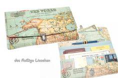 Ich packe meinen Koffer und nehme mit...  ...das praktische und hübsche Reiseetui im Weltkarten-Design! Denn sind alle Reiseunterlagen gut und übersichtlich verstaut, lässt es sich noch besser in...