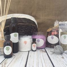 Calm My Spirit is a calming, comforting and grounding basket including a Soy Candle, Scented Potpourri, Your choice unscented Bath Salt: Coarse Himalayan Bath Salt, Coarse Dead Sea Salt, Coarse Mediterranean Sea Salt or Extra Fine Epsom Salt, Diffuser Oil Kit or Scented Massage Oil, Herbal Tea, Loofah Body Pad and an essential oil blend.  This combination of scents will bring you balance, comfort and centeredness.  This selection of scents and oil combinations have the goal of calming you…