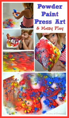 Fun, but messy outside craft for summer reading?