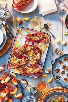 #salmon #seafood #salmonrecipes #salmondishes Salmon Dishes, Seafood Dishes, Southern Food, Southern Recipes, Rock Lobster, Grilled Lobster, Fresh Basil Leaves, Dry White Wine, Fun Cooking