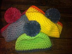 Cuffie colorate per l'amico Valdostano !!! :)