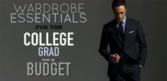 Until you graduated college, there wasn't much need for a week's worth of suits, dress shirts, and ties.  Pulling together a professional wardrobe when you're offered a job doesn't need to be expensive or difficult. We'll show you how.