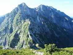 不帰キレット(白馬岳と唐松岳)間の核心部|北アルプス登山ルートガイド。Japan Alps mountain climbing route guide
