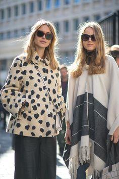 Pernille Taesback (left)   - HarpersBAZAAR.com