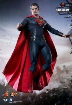 Superman 1/6th Scale Collectible Figure, Man of Steel (Hot Toys)