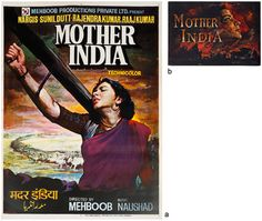 #MotherIndia(1957) #Nargis #MoviePoster #PromotionalBooklet #NoReserveAuction(Oct15-16,2014)