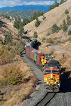 Bnsf Railway, Union Pacific Railroad, Old Trains, Train Pictures, Model Train Layouts, Diesel Locomotive, Train Tracks, Train Station, Model Trains