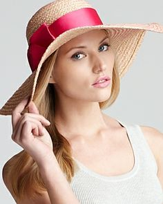 Jonathan Adler Overstitched Floppy Sun Hat on shopstyle.co.uk