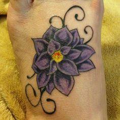 My new foot tattoo!