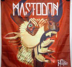 MASTODON The Hunter HUGE 4X4 banner poster tapestry cd album cover | eBay